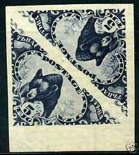 Tannu Tuva🐫Sc.70a. Blechman 78I. Ustinovsky 85A. Imperforated bear pair.