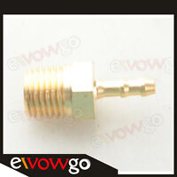 """4mm Male Brass Hose Barbs Barb To 1/4"""" NPT Pipe Male Thread Fitting"""