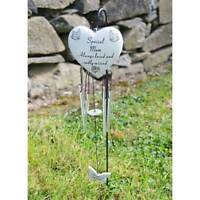 Special Mum Always Loved Sadly Missed Memorial Wind Chime Ornament Graveside New