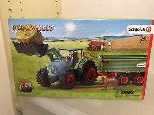 NEW *Retired* Schleich Farm World 42379 Tractor Hay Loader