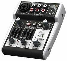 Behringer Xenyx 302USB Audio Interface Premium 5-Input Mixer