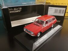 1/43 Minichamps Ford Taunus Turnier 1962 400061411 rosso red rot rouge rojo RARE