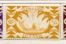 Polynésie Française-Océanie 1931-42 Early question fine Comme neuf charnière 5 F. 164335