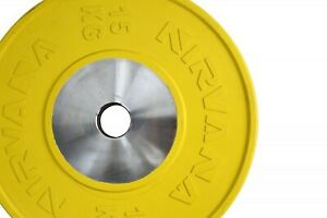 Nirvana Tech  Competition Bumper Plate Weight Training Workout