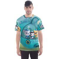 New The Octonauts Sublimation Men Sport Mesh Tee T-Shirt Size XS-5XL