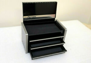 Snap-On New Black Mini Upper Top Tool Box Base Cabinet Limited