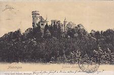 AK Meiningen. Schloss Landsberg, gelaufen nach Mannheim.