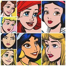Topps Disney Collect Face Value Standard Series 2 + Award Ariel COMPLETE 8 Cards