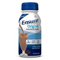 Ensure Original Nutrition Shake, Meal Replacement Shakes, Coffee Latte, 8 fl...
