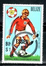 SELLOS DEPORTES FUTBOL BELIZE 1981 581 ESPAÑA 82 1v.
