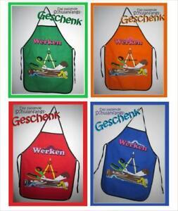 Kinderschürze, Werkenschürze, Werkschürze f. Schulanfang Geschenk Geschenke