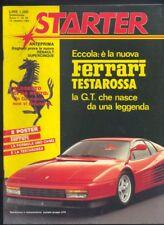 Starter n. 18 1984 Ferrari Formula Uno Alboreto Michele  R