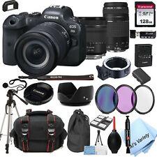 Canon EOS R6 Mirrorless Camera + 24-105mm STM + 75-300mm Lenses -128GB Bundle