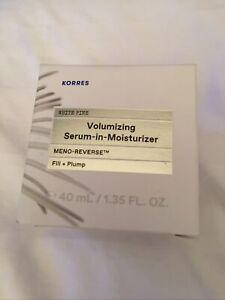 Korres Volumizing Meno-Reverse Serum-in-Cream 1.35 fl. oz. NIB