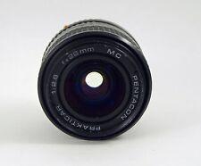 Pentacon Prakticar 28mm F2.8 with PB Mount