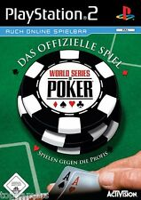 World Series of Poker - Activision - SONY PlayStation 2 - PS2