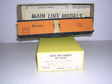 Main Line Models #XR-5 Milwaukee 50' Expres Reefer #48330 Part.Blt-up H.O. 1/87