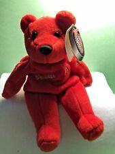 SALVINOS BAMMERS  .DETROIT RED WINGS  TEDDY BEAR  '' BRENDAN SHANAHAN  #14 ''