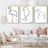 Picasso Artwork Famous Art Poster Prints Abstract Canvas Wall Art Painting