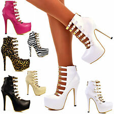 Stiletto Clubwear Synthetic Leather Shoes for Women