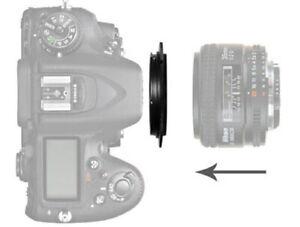 AF-55mm Macro Reverse Lens Adapter Ring For Sony Alpha A Lens Mount  - UK STOCK