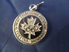 VINTAGE STERLING SILVER CANADIAN OLYMPICS CHARM