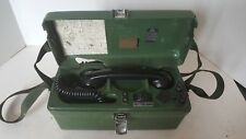 British Army PYE PTC 405 TYPE 1705 Field Telephone Two Wire