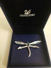 New ListingSwarovski Paradise Bugs Brooch: Adiora Light Azore Dragonfly In Box/certificate