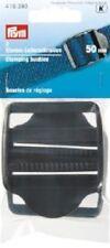 Prym 2 Stück Klemm-Leiterschnallen 50 mm schwarz 416393