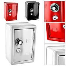 New Safe Security Metal Money Bank Savings Cash Savings Saving Box 2 Keys