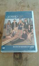 Como nuevo DVD películas GOSSIP GIRL -  TERCERA TEMPORADA COMPLETA - 5 Discos -