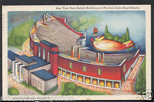 America Postcard - New York World's Fair 1939 - Exhibit Building  C1088