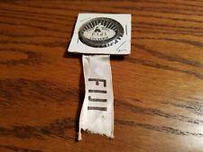 Old Time Fiji Football Soccer Pin