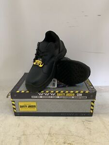 Safety Jogger Black Steel Toe Cap Trainers Size 6