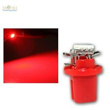 5 x SMD 3 chip LED b8.5d bax10d t5 rojo amaturenbeleuchtung interior velocímetro red