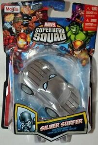 Marvel Superhero Squad 2011 Silver Surfer Die-cast Vehicle Toy by Maisto