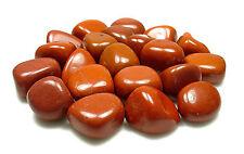 TUMBLED - (1) LG/XL RED JASPER Crystal w/ Description Card- Healing Stone Reiki