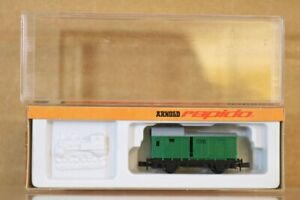 ARNOLD 3060 N SCALE DR GREEN PACKWAGEN BAGGAGE LOCAL COACH WAGON MINT BOXED np
