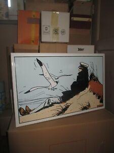 Corto Maltese-Leblon Delienne & Emaillerie Belge-Panneau émaillé-100 exemplaires