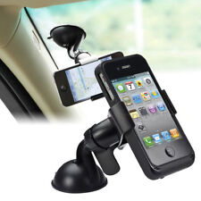 Car Windshield Stand Bracket Cradle Holder Mount Grip Clip for Mobile Cell Phone
