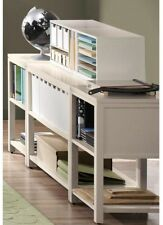 Martha Stewart Living Craft Space 21 in. Storage Console Rhododendron Leaf Green
