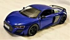 Kinsmart - 1:36 Scale Model 2020 Audi R8 Coupe Blue (BBKT5422DBL)