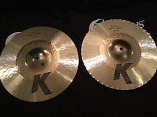 "NEW 14.25"" Zildjian K Custom Hybrid Hi Hats - Beautiful Cymbals"