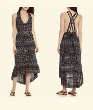 NWT Jessica Simpson Margarita Strappy High-Low Long Boho Festival Dress MEDIUM