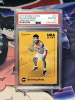2019-2020 NBA Hoops - RUI HACHIMURA - Arriving Now Rookie Card - PSA 10 Gem Mint