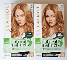 2 Clairol Natural Instincts Permanent Hair Color 8 Medium Blonde Moonlight Blond