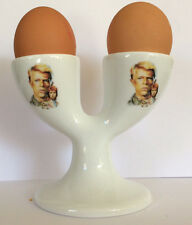 DAVID BOWIE DOUBLE EGGCUP CERAMIC EGG CUP