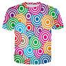 Lollipop funny 3D print T-Shirt women/men's  Short Sleeve Casual tops Plus size