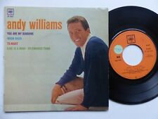 ANDY WILLIAMS You are my sunshine .. EP 5641 FRANCE  RRR