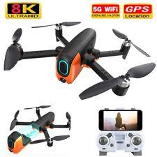 2020 New RC Drone 8k Ultra HD GPS 5G WiFi Three Brushless Motor FPV VR Drone